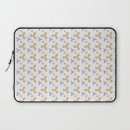 Fidget Spinner Seamless Pattern Laptop Sleeve