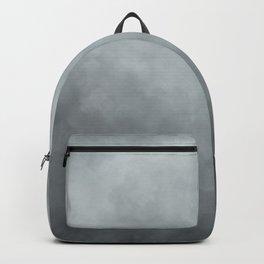 Grey Blue Grunge Backpack