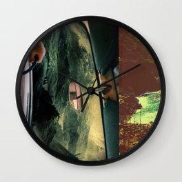 Conglomeration Wall Clock