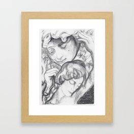 Weightless Excerpts Framed Art Print