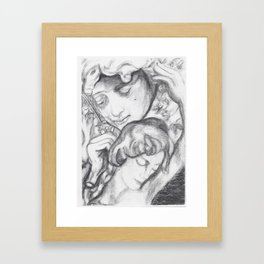 Weightless Excerpts Framed Art Print