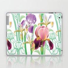 Iris Pattern Laptop & iPad Skin