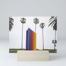 Chromatic Gate, Santa Barbara, California Mini Art Print