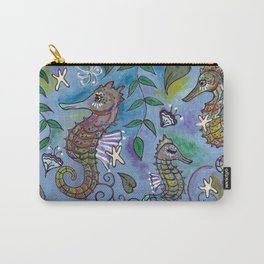 Oh, the Quiet Beauty of the Seahorse Carry-All Pouch
