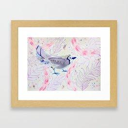 Asleep In The Garden Framed Art Print