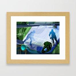 Hockey Framed Art Print