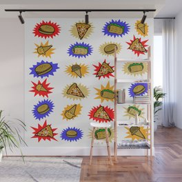 Fun Food Wall Mural
