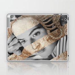 Leonardo Da Vinci's Head of Leda & Ingrid Bergman Laptop & iPad Skin