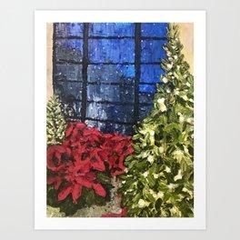 Longwood Gardens Holiday Art Print