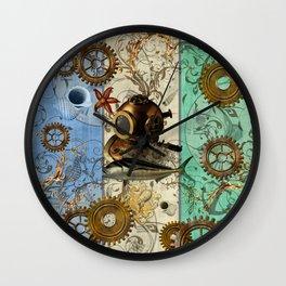 Nautical Steampunk Wall Clock
