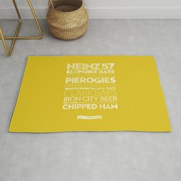Pittsburgh — Delicious City Prints Rug