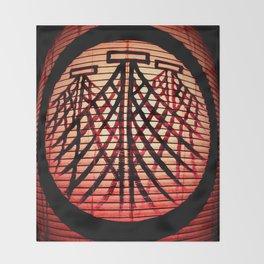 Paper Lanterns I Throw Blanket