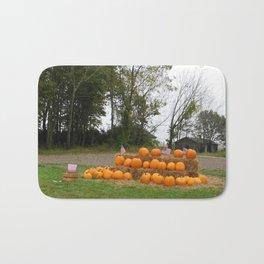 Patriotic Pumpkins Bath Mat