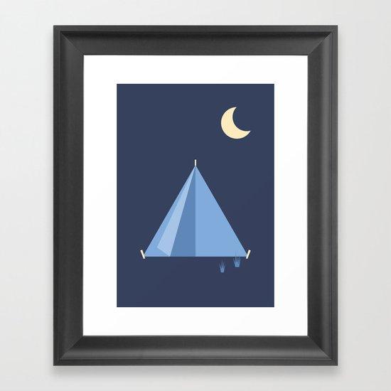 #83 Tent Framed Art Print