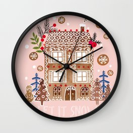 Let it snow ... Wall Clock