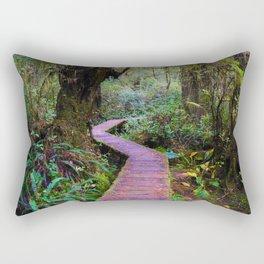 Rainforest Trail, Vancouver Island BC Rectangular Pillow