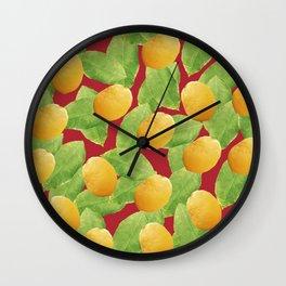 Just Lemons Wall Clock