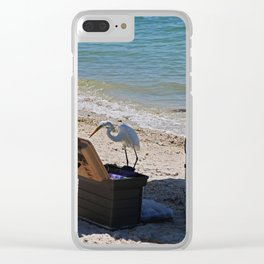 Trolling for Tackle Clear iPhone Case