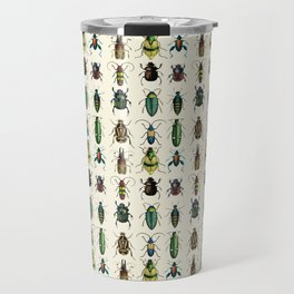 Jeweled Beetles  Travel Mug