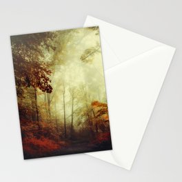 That's not my way - misty woodland Stationery Cards
