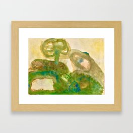 Burrow in Pennsylvania Countryside Framed Art Print