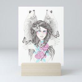Wolf Shadow Mini Art Print