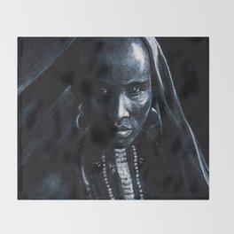 Beautiful african Throw Blanket