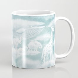 Ocean Meets Sky - Front Endpapers Coffee Mug
