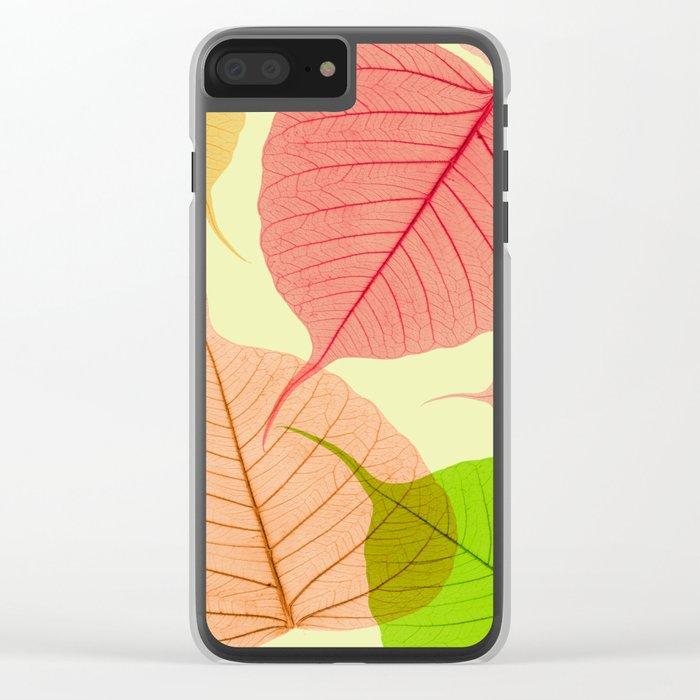 Organic Vivaldi Primavera Clear iPhone Case