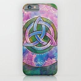 Triquetra Mandala 266 iPhone Case