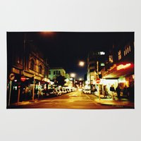cuba Area & Throw Rugs featuring Cuba Street by Curious Yellow