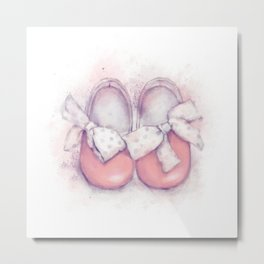 Shoes For Baby Metal Print