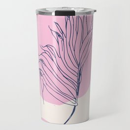Modern botanical and shapes Travel Mug