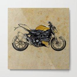 Ducati Streetfighter 848, 2012 Metal Print