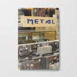 Metal Metal Print