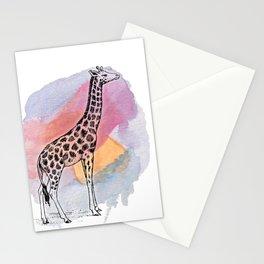 Judgemental Giraffe Stationery Cards