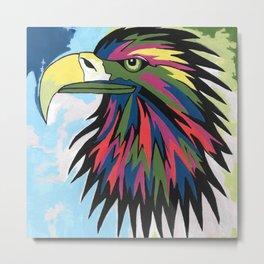 Spirited Eagle Metal Print