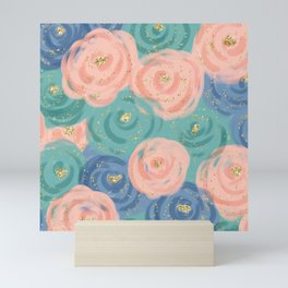 Prim Florals Mini Art Print