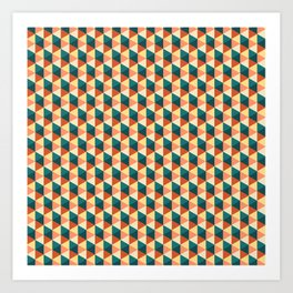 Lebanese Geometric Art Print