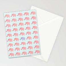 Elephant pattern 1211 Stationery Cards