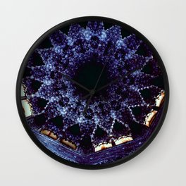 Looking Up Stalactite Dome, Alhambra Wall Clock