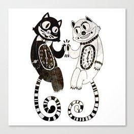 Tick 'n Tock Canvas Print