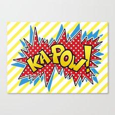 Ka-Pow Canvas Print