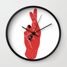 Wish You Luck Wall Clock