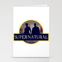 supernatural Stationery Cards featuring Supernatural  by amirshazrin