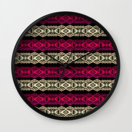 Luxury lace print Wall Clock