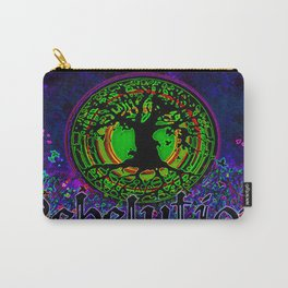 Tree of Life #3 Night Illumination Carry-All Pouch
