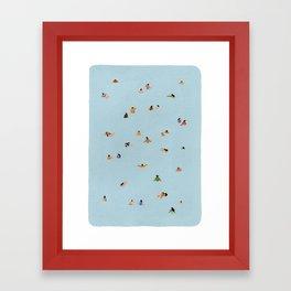 Dusty blue II Framed Art Print