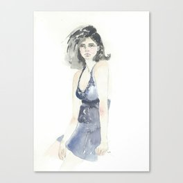 Blue Velvet Canvas Print
