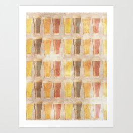 99 Pints of Beer on the Wall Art Print